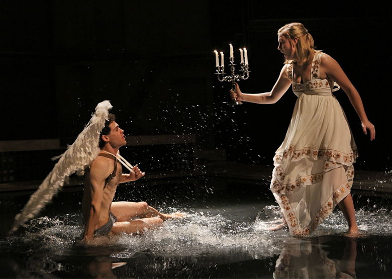 "Why We Love a Rep: Brandon Garegnani, Arielle Yoder in PlayMakers 2013 production of ""Metamorphoses"" by Mary Zimmerman. Photo by Michal Daniel."